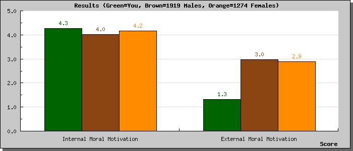 Moral profil-moral motivation scale